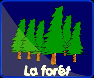 Jeux dans la forêt