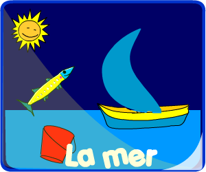 Jeux dans la mer